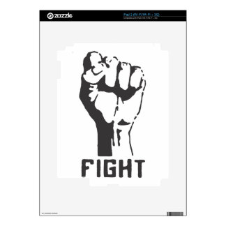 FIGHT! DECALS FOR THE iPad 2