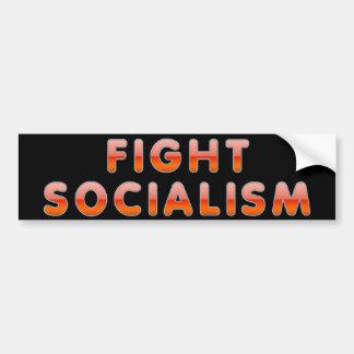 Fight Socialism Car Bumper Sticker