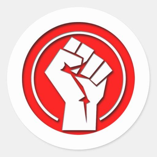 Fight Round Sticker