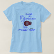 Fight Stomach Cancer Ladies Babydoll Tee