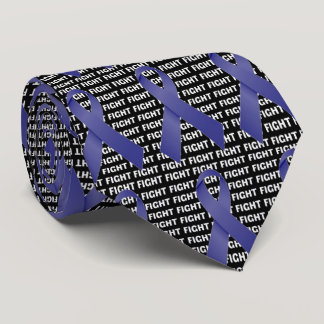Fight Stomach Cancer Periwinkle Ribbon Tie