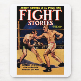 Fight Stories Mouse Pad