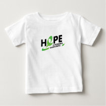 Fight Strong Lymphoma Awareness Support Gift Baby T-Shirt