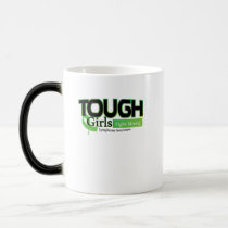 Fight Strong Lymphoma Awareness Support Gift Magic Mug