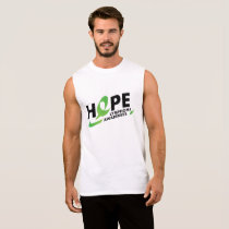 Fight Strong Lymphoma Awareness Support Gift Sleeveless Shirt