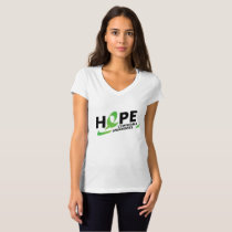 Fight Strong Lymphoma Awareness Support Gift T-Shirt