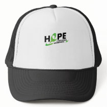 Fight Strong Lymphoma Awareness Support Gift Trucker Hat