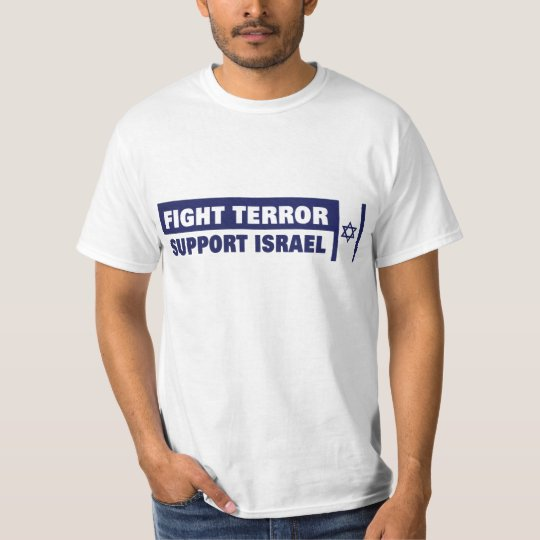 Fight Terror, Support Israel shirt - Customized