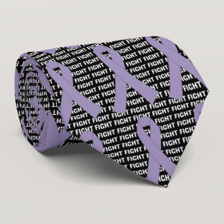 Fight Testicular Cancer Orchid Ribbon Tie