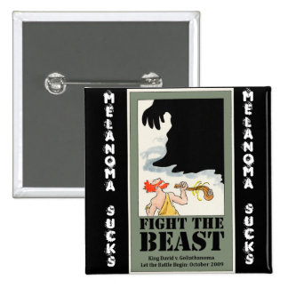Fight the Beast Pin