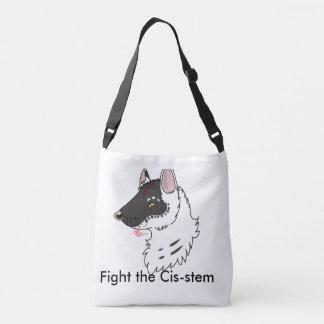 Fight the Cistem Crossbody Bag