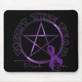 Fight the Fear-Proud Pagan Mouse Pad