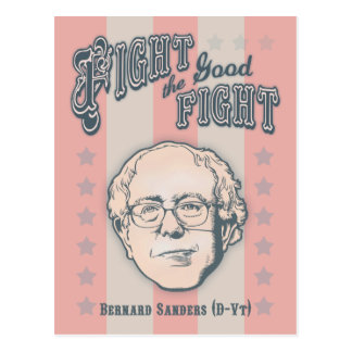 Fight the Good Fight Postcard