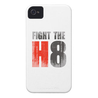 FIGHT THE H8 Faded.png iPhone 4 Case-Mate Cases