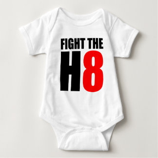 Fight The H8 - Oppose Proposition 8 Baby Bodysuit