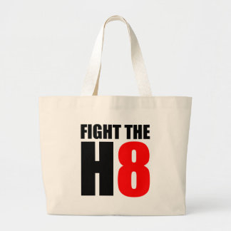 Fight The H8 - Oppose Proposition 8 Canvas Bag