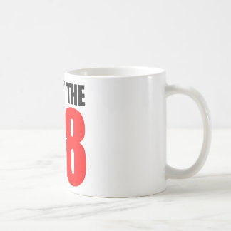 Fight The H8 - Oppose Proposition 8 Classic White Coffee Mug