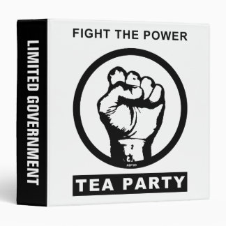 Fight The Power 3 Ring Binder