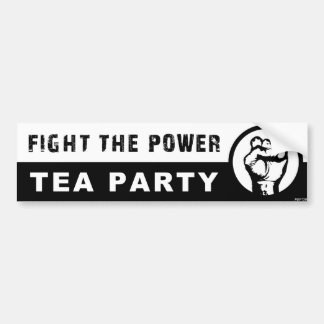 Fight The Power Bumper Sticker