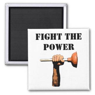 Fight the Power Fridge Magnet