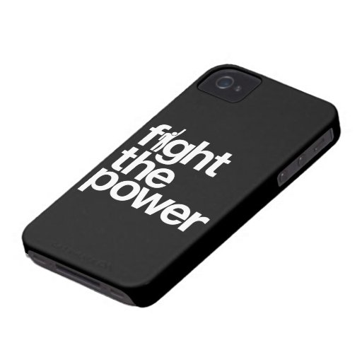 Fight the Power iPhone 4  Case-Mate Case