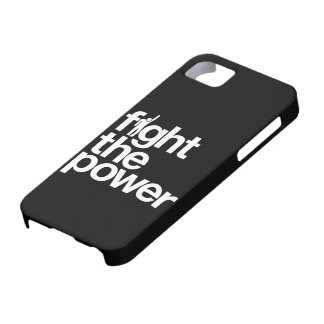 Fight the Power iPhone 5  Case-Mate Case