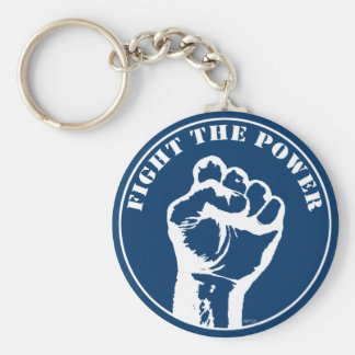 Fight The Power Keychain