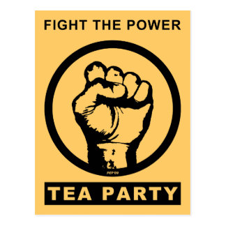 Fight The Power Postcard