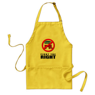 Fight the Right Adult Apron