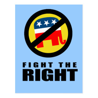 Fight the Right Postcard