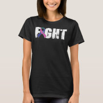 Fight Thyroid Cancer Awareness - Fight Cancer T-Shirt