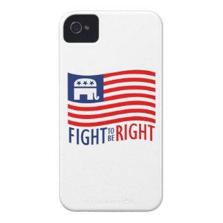 FIGHT TO BE RIGHT.png iPhone 4 Case-Mate Case