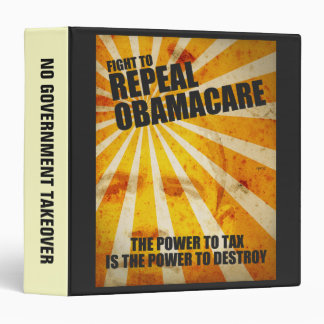 Fight To Repeal Obamacare Binder