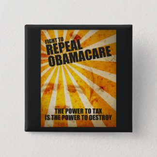 Fight To Repeal Obamacare Button