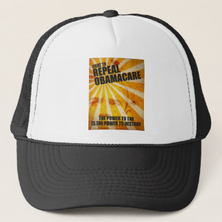 Fight To Repeal Obamacare Trucker Hat