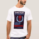 Fight Tuberculosis 1940 WPA T-Shirt