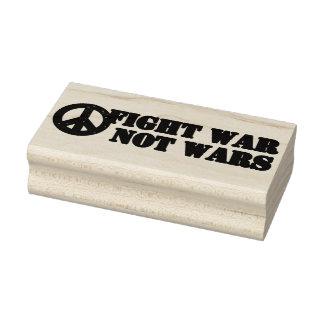 Fight War Not Wars Rubber Art Stamp