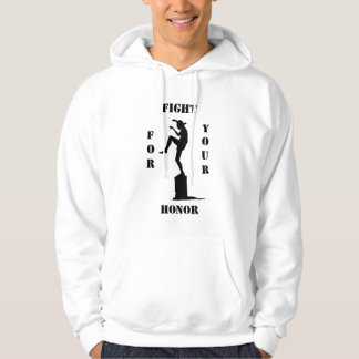 Fight will be you Honour Hooded Sweatshirt