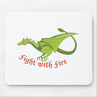 Fight With Fire Mousepads