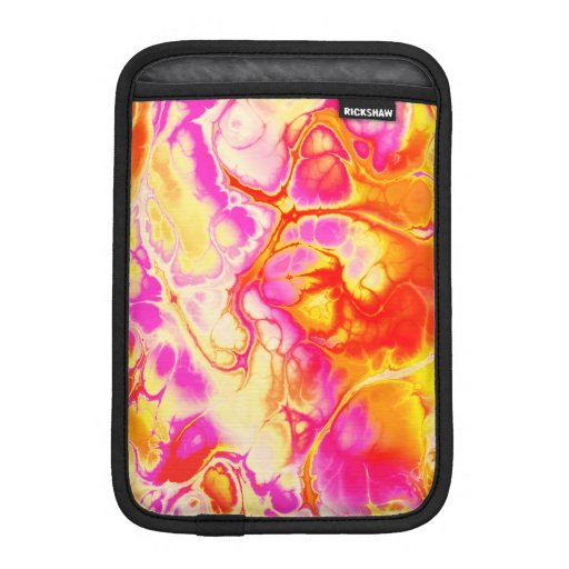 Fighter, 01, neon colors iPad mini sleeve