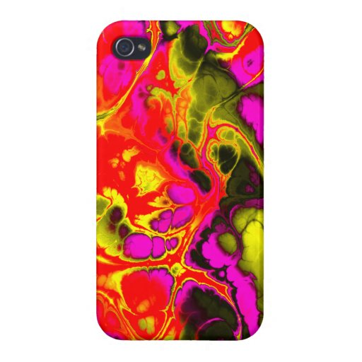 Fighter, 03, neon colors case for iPhone 4