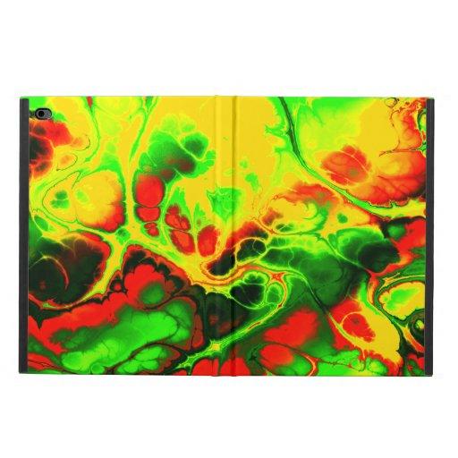 Fighter, 04, neon colors powis iPad air 2 case