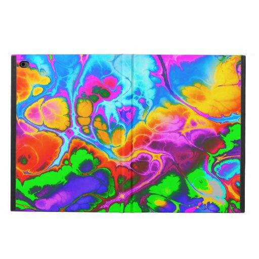 Fighter, 05, neon colors powis iPad air 2 case