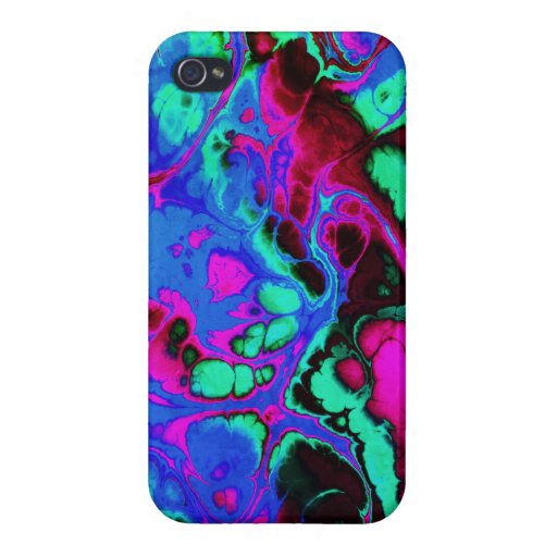 Fighter, 06, neon colors case for iPhone 4
