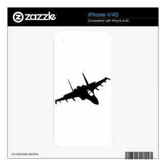 Fighter aircraft iPhone 4S skin