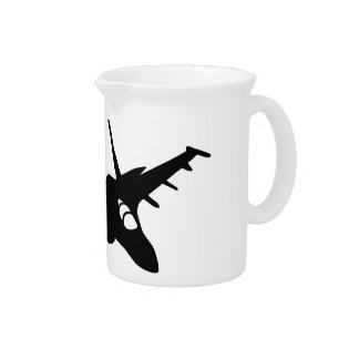 Fighter aircraft pitcher