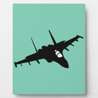 fighter aircraft plaque