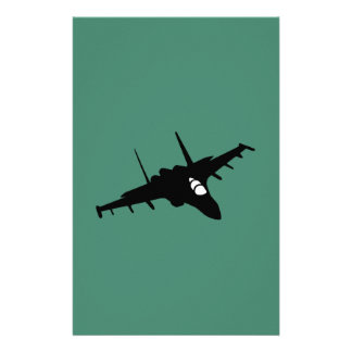 Fighter aircraft stationery