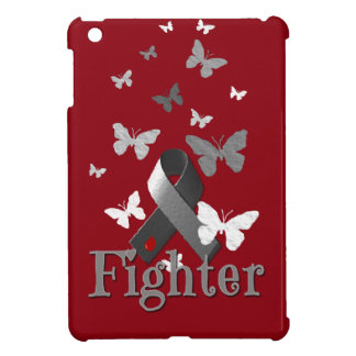 Fighter Diabetes Awareness Ribbon iPad Mini Cases