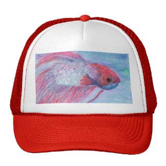 Fighter Fish Trucker Hat